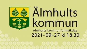 Älmhults kommunfullmäktige, 27 september 2021