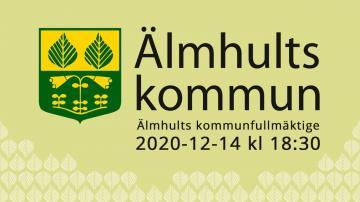 Älmhults kommunfullmäktige, 14 december 2020