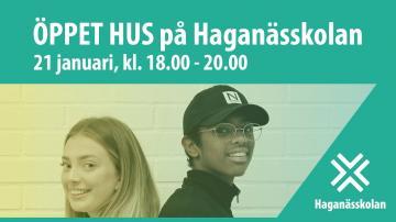 Öppet hus på Haganässkolan, 21/1-2020