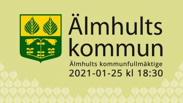Älmhults kommunfullmäktige, 25 januari 2020